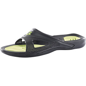 arena Hydrofit Hook Sandals Herren black/black/green